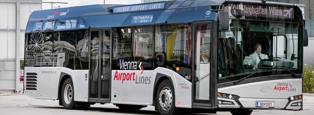 Flughafen Wien öbb Linienbus Vienna Airport Lines