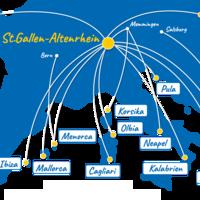 Flugplan Der Peoples Airline Flüge Ab Und Nach Stgallen Altenrhein