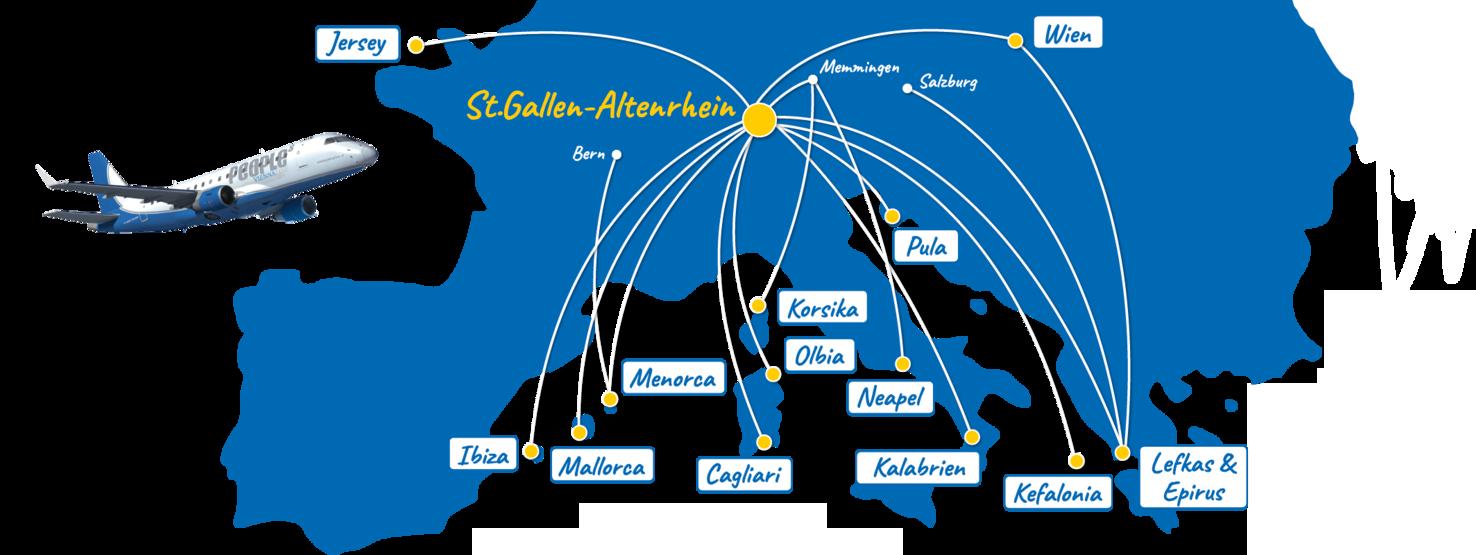 Airport Stgallen Altenrhein Und Airline Peoples
